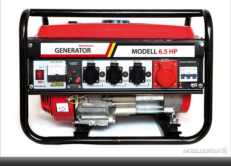 7014 benzin generator 3kw mit e starter neuware sh. Black Bedroom Furniture Sets. Home Design Ideas