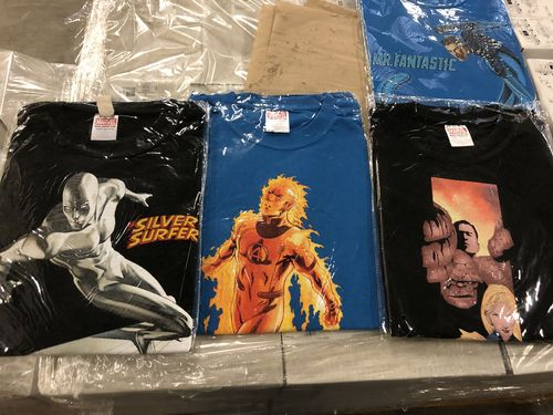 3440 Stk. Marvel T-Shirts Gr. L