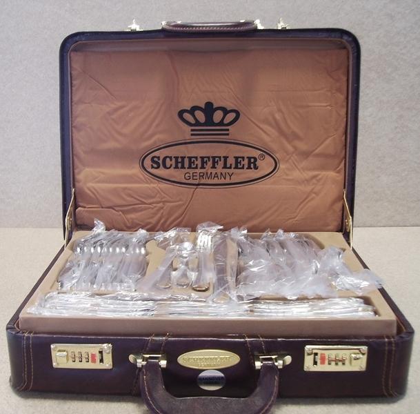 6332 Besteckset 84 Tlgteilig Im Diplomatenkoffer Scheffler Germany