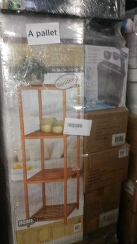 15 pallets housewares garden toys lamps etc.